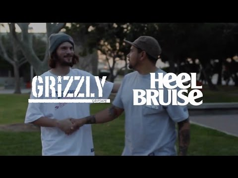 Grizzly Griptape X Heel Bruise - Bad News Bruisers