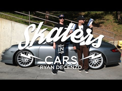 Skaters In Cars: Ryan DeCenzo