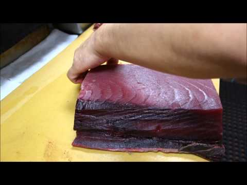 Unbagging Our Fresh Tuna - How To Make Sushi Series