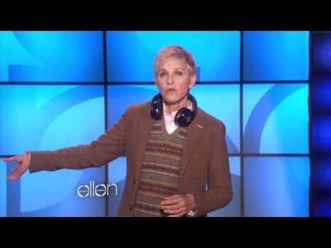 Ellen at Bill Clinton's Party
