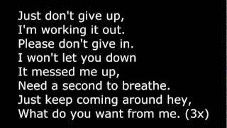 Watch Adam Lambert What Do You Want From Me video