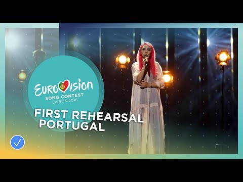 Cláudia Pascoal - O Jardim - First Rehearsal - Portugal - Eurovision 2018