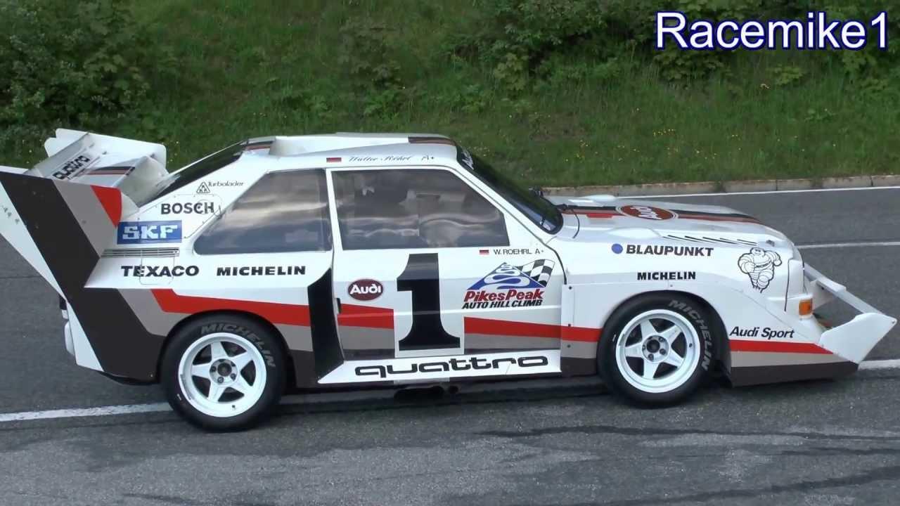 Audi Sport Quattro S1 E2 Quot Pikes Peak Quot Ex Walter R 246 Hrl