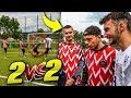 HEFTIGE 2 VS 2 FUßBALL WM CHALLENGE *ANSAGE*
