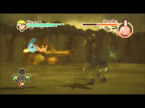 Naruto Ultimate Ninja Storm 2 Naruto Vs Sasuke S-Rank HD (English)