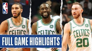 CELTICS at HORNETS | FULL GAME HIGHLIGHTS | November 7, 2019