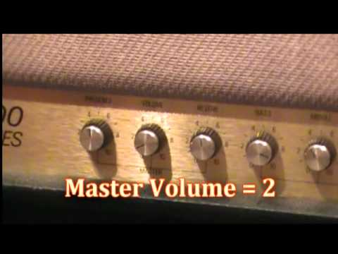 Marshall JCM800 2205 full demo