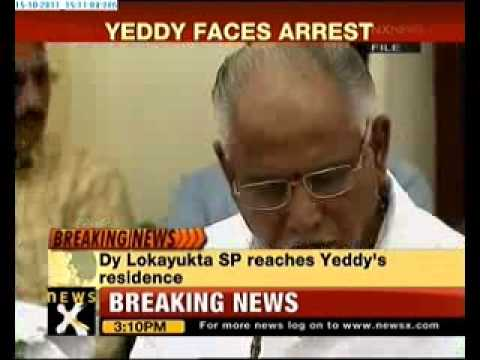 Ex-CM B S Yeddyurappa set to be arrested