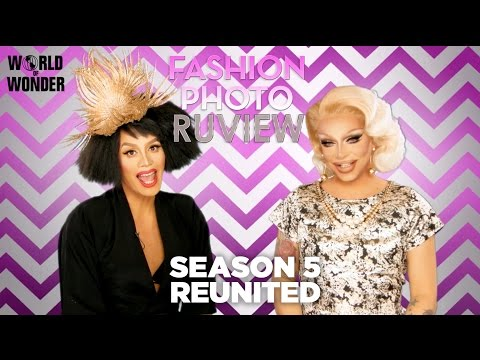 "RuPaul's Drag Race Fashion Photo RuView with Raja and Raven: Season 5 Episode 14 ""Reunited"""