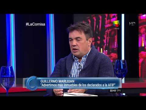 Guillermo Marijuan: Advertimos más inmuebles de los declarados a la AFIP