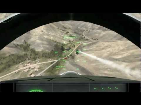 F-35 Fighter In Action! Eliminating Ground Targets [ArmA2 1080p]