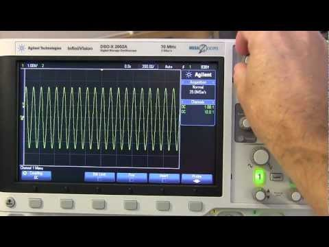 Tutorial: How to use an Oscilloscope #2 - How to acquire a signal.