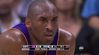 Kobe Bryant Full Highlights vs Nuggets 2009 WCF GM3 - 41 Pts, CLUTCH