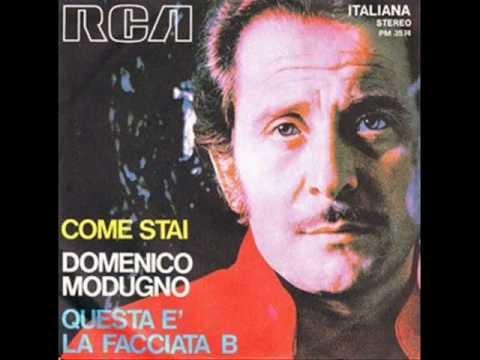 Domenico Modugno - Volare Nel Blu Dipinto di Blu