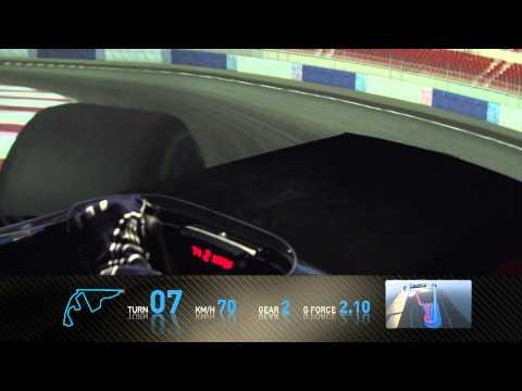 F1 Yas Marina - GP d'Abu Dhabi 2010 - Un tour avec Sebastien Buemi