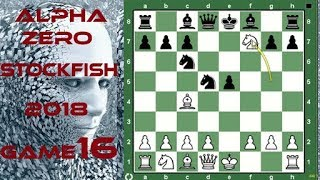 Absolutely Incredible. AlphaZero Uses The Fried Liver Attack On Stockfish Game16  2018