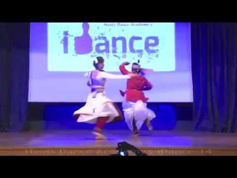 HDAs iDance-14 BharatNatyam and Kathak Fusion
