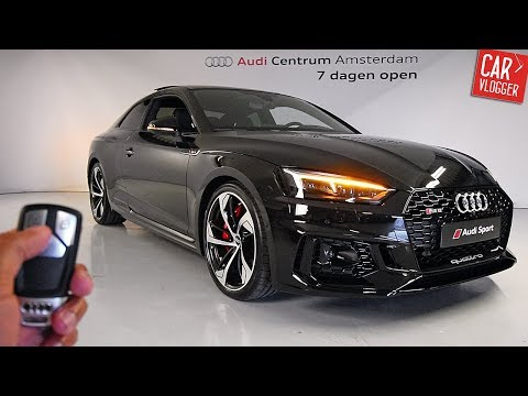 INSIDE the NEW Audi RS5 2017 | Interior Exterior DETAILS w/ REVS streaming vf