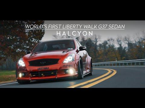 World's First Liberty Walk G37 Sedan | HALCYON (4K)