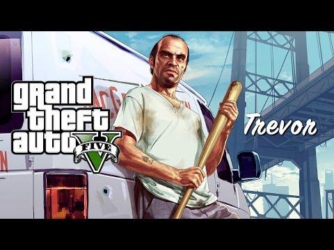 Grand Theft Auto V - A Mãe do Trevor oO !? (GTA 5)