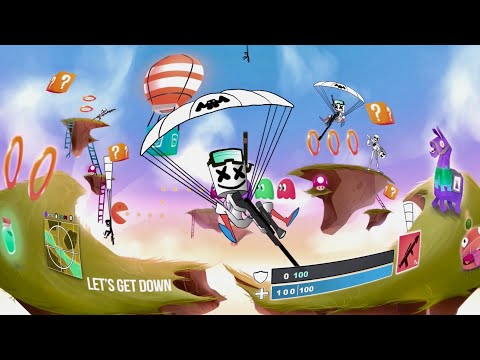 download song Marshmello x Yultron - Let's Get Down (360° VR Music Video) free
