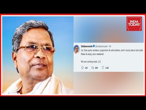 Siddaramaiah Mocks Exits Polls On Karnataka As Mere Entertainment