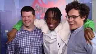 SPIDER-MAN INTO THE SPIDER-VERSE Interview - Chris Miller, Phil Lord & Shameik Moore