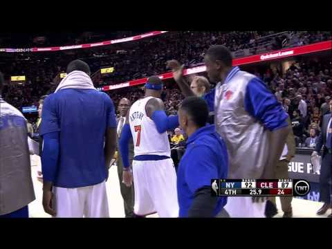 Carmelo Hits Clutch Shot Over LeBron to Ruin James' Homecoming