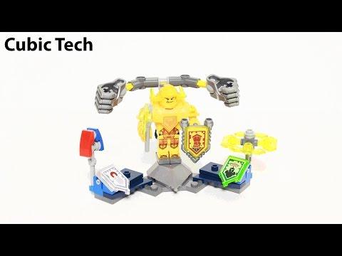 Lego Nexo Knights 70336 Ultimate Axl - Lego Speed Build