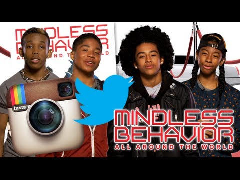 Win a Mindless Behavior signed