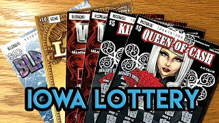 $10 Black Ice, $10 Loaded & More! Iowa Lottery Scratch Offs