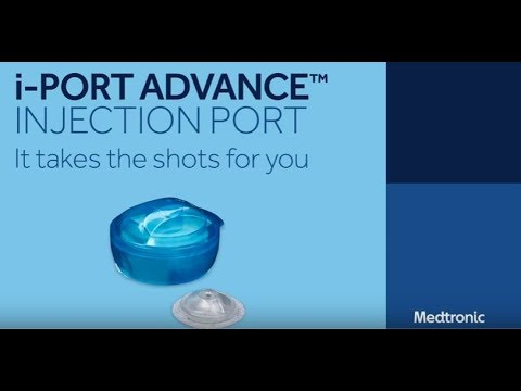 How To Insert the i-Port Advance® Injection Port