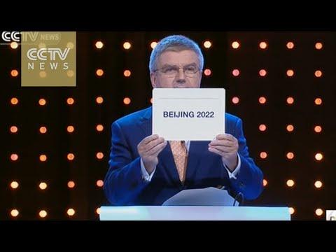 Beijing wins bid to host 2022 Winter Olympics