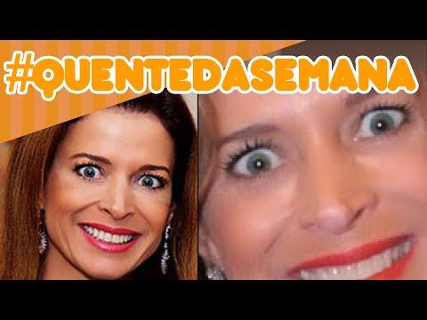 Claudia Cruz: Mulher do Cunha já foi Musa da Globo #QuenteDaSemana18 @PopZoneTV