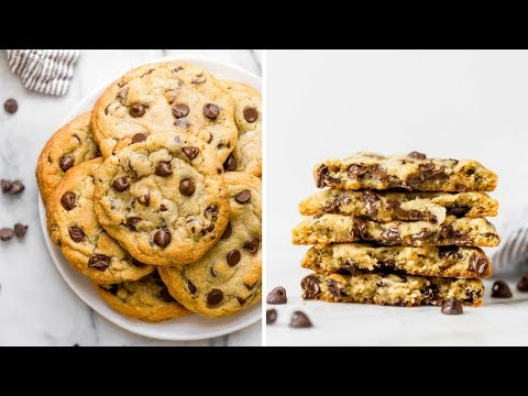 Bakery Style Chocolate Chip Cookie Recipe thumbnail