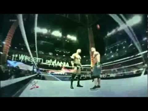 The Rock vs John Cena Wrestlemania 29 WWE Title Promo. GREATNESS VS REDEMPTION
