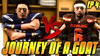 DUARTE VS BAKER MAYFIELD! THOMAS DUARTE'S PLAYER CAREER EP.4! Madden 19 Career Mode