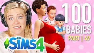 Single Girl Starves Six Toddlers In The Sims 4 | Ep 49