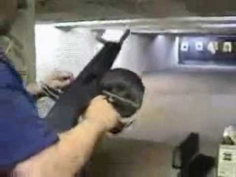 Full auto shotgun Video