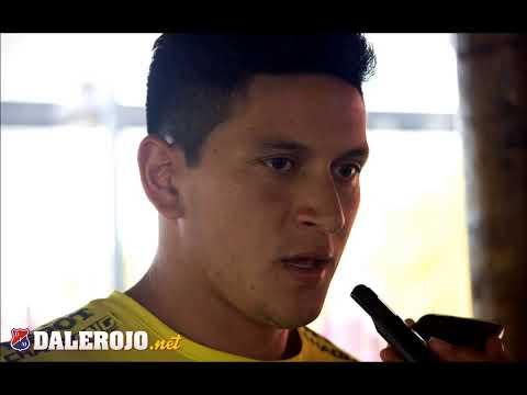 Entrevista con Germán Cano, goleador del DIMedellín