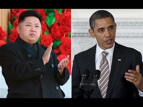 North Korea Threatens To Strike America - Obama Mocks North Korea