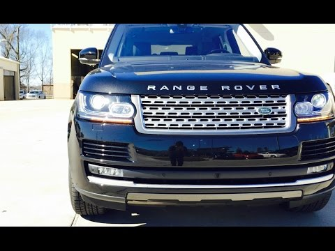2016 Range Rover Supercharged Full Review /Exhaust /Start Up /Short Drive