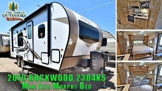 New 2019 ROCKWOOD 2304KS Murphy Bed Travel Trailer RV Camper Colorado Dealer