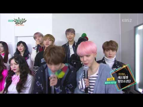 170224 Red velvet and Bts @ KBS Music Bank (btsvelvet)