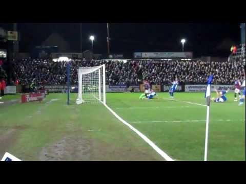 Bristol Rovers vs Aston Villa 1st Goal scored by Marc Albrighton