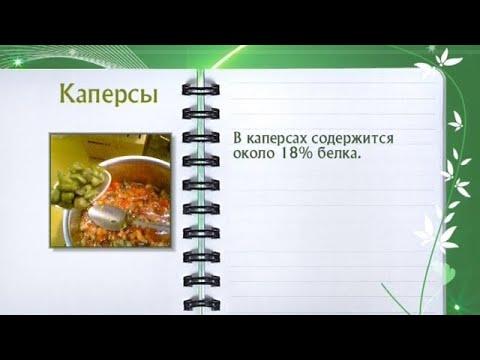 Кулинарная энциклопедия - Каперсы