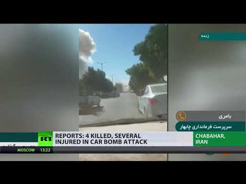 Car bomb attack leaves 4 dead and many injured in Iran