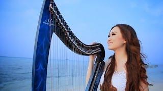 Download Lagu Laskar Pelangi (Vocal and Harp Cover) By Angela July [HD] Gratis STAFABAND