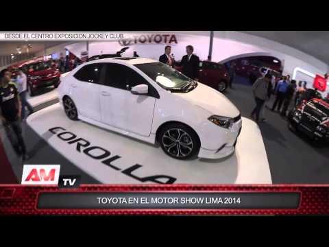 Toyota en el Motor Show de Lima 2014