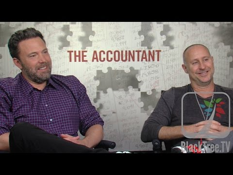 Ben Affleck And Gavin O'Connor Discuss THE ACCOUNTANT
